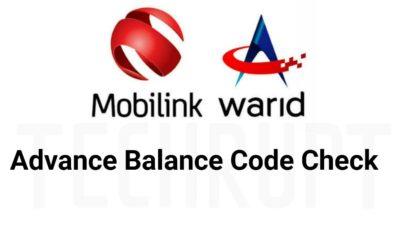 Waird Advance Load code