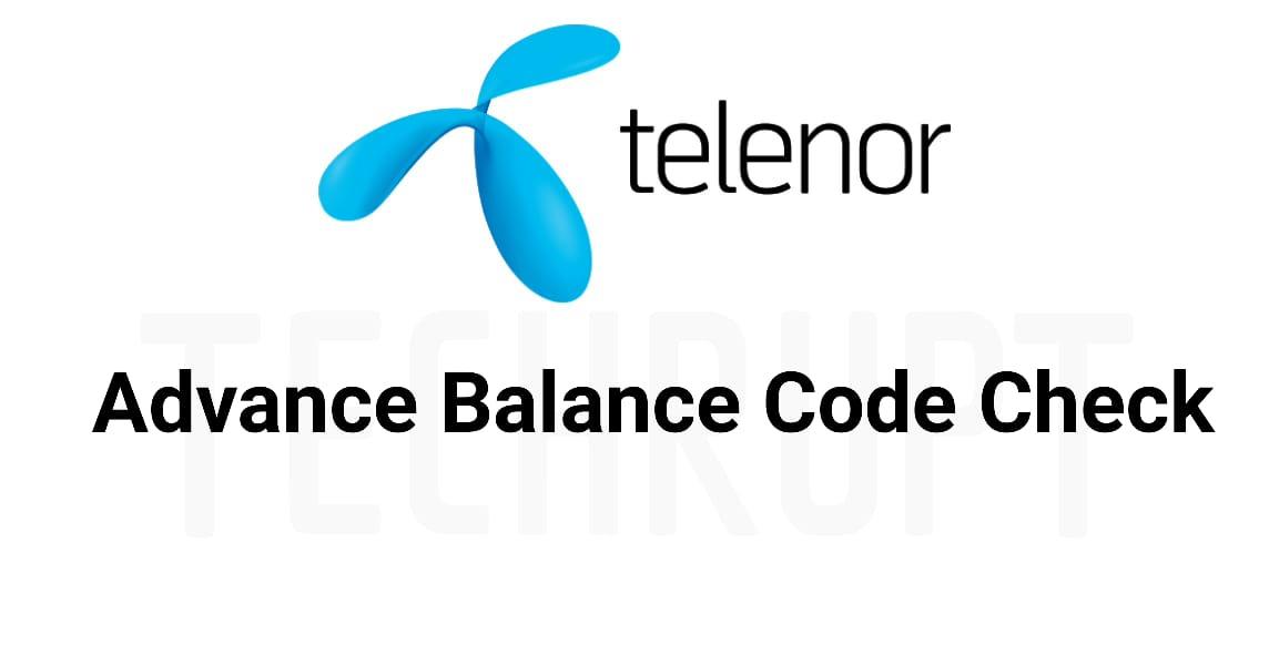 Telenor Advance load Code
