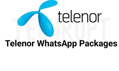 Telenor Whatsapp Package