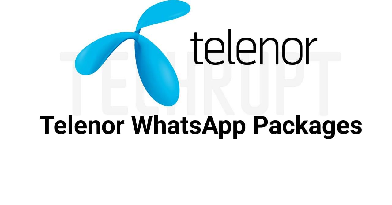Telenor Whatsapp Package