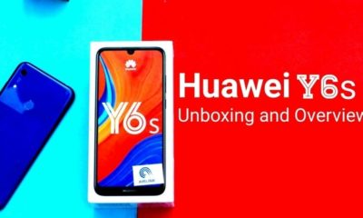 Huawei Y6s Unboxing & Overview