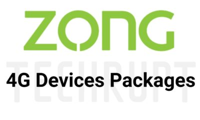 Zong Wifi internet packages