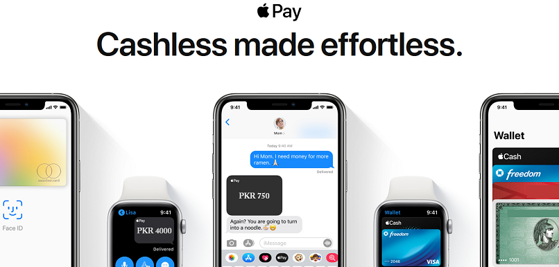 use apple pay in Pakistan