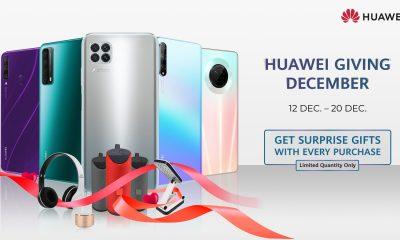 Huawei december gifts