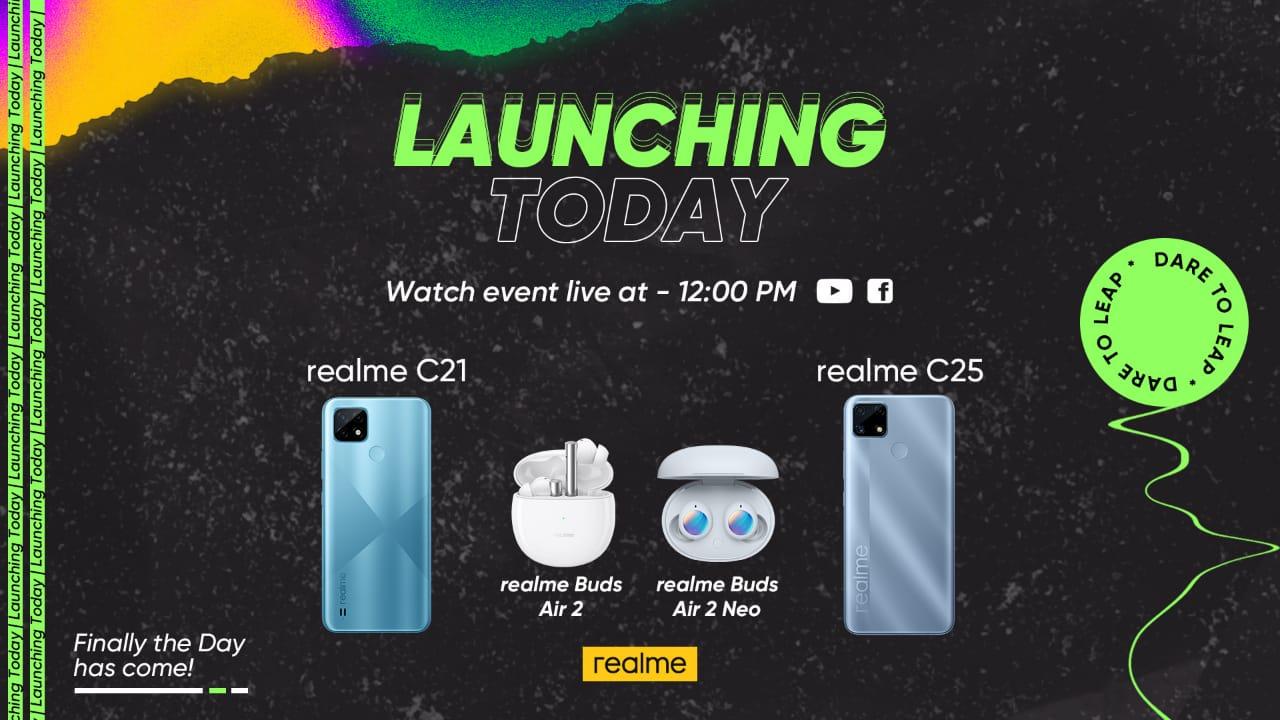 realme C21 Price in Pakistan: