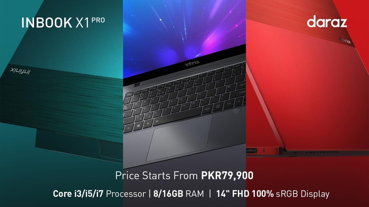 Infinix laptop price in Pakistan